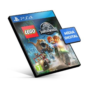 Lego Jurassic World - PS4 Mídia Digital