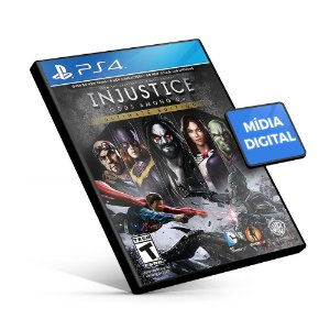 Injustice: Gods Among Us Ultimate Edition - PS4 Mídia Digital
