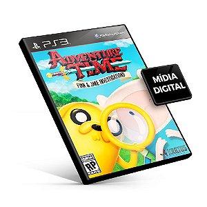 Adventure Time: As investigações de Finn e Jake - PS3 Mídia Digital