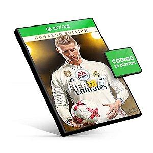 Fifa 18 Edição Ronaldo - Xbox One - Código 25 Dígitos