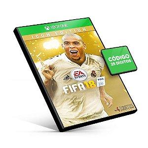 Fifa 18 Edição Ídolo - Xbox One - Código 25 Dígitos