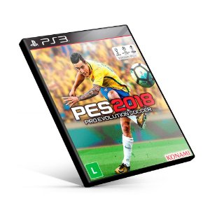 PES Pro Evolution Soccer 2018 - PS3 Mídia Digital