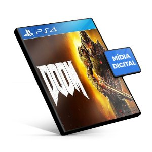 DOOM - PS4 Mídia Digital