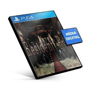 Resident Evil - PS4 Mídia Digital