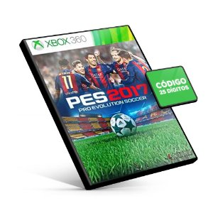 PES Pro Evolution Soccer 2017 - Xbox 360 - Código 25 Dígitos - Americano