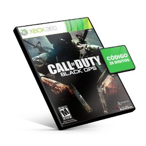 Call Of Duty Black Ops - Xbox 360 - Código 25 Dígitos