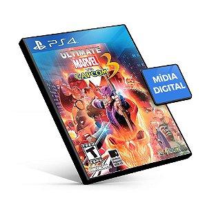 Ultimate Marvel vs. Capcom 3 - PS4 Mídia Digital