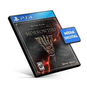 The Elder Scrolls® Online: Morrowind - PS4 Mídia Digital