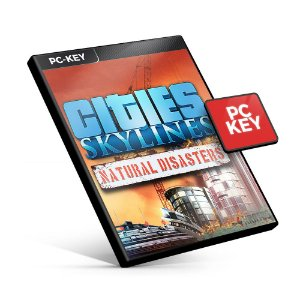 Cities Skylines - Natural Disasters DLC - PC KEY