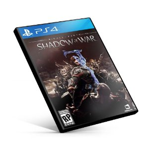 Terra-média: Sombras da Guerra- PS4 Mídia Digital
