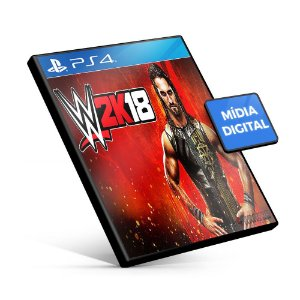 WWE 2K18 - PS4 Mídia Digital