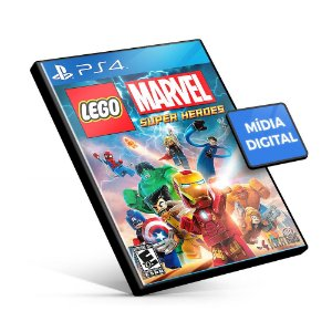Lego Marvel Super Heroes - PS4 Mídia Digital