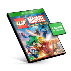 Lego Marvel Super Heroes - Xbox One - Código 25 Dígitos