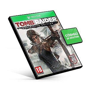 Tomb Raider Definitive Edition - Xbox One - Código 25 Dígitos