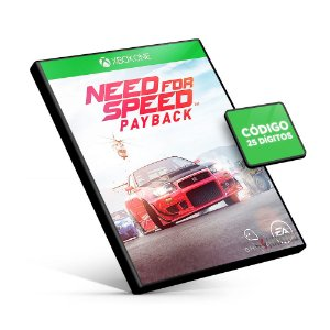 Need for Speed Payback - Xbox One - Código 25 Dígitos