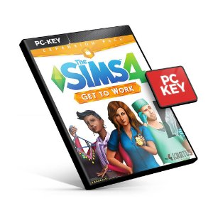 The Sims 4 Get to Work DLC - PC KEY