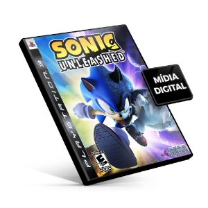 Sonic Unleashed - PS3 Mídia Digital