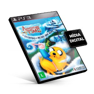 Adventure Time o Segredo do Reino Sem Nome - PS3 Mídia Digital