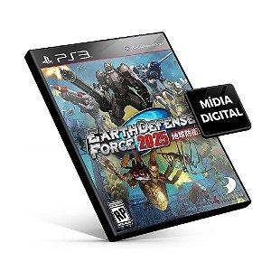 Earth Defense Force 2025 - PS3 Mídia Digital