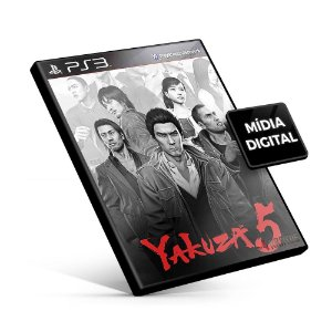 Yakuza 5 - PS3 Mídia Digital