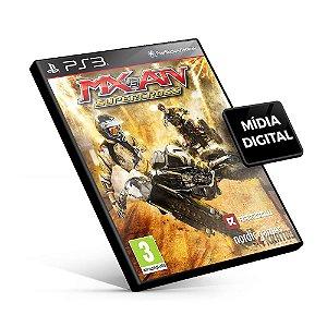 MX vs. ATV Supercross - PS3 Mídia Digital
