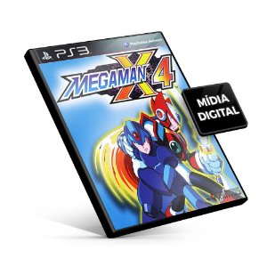 Mega Man® X4 - PS3 Mídia Digital