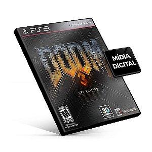 DOOM 3 BFG Edition - PS3 Mídia Digital