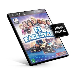 F1 RACE STARS - PS3 Mídia Digital