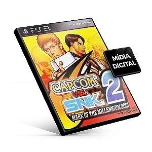 Capcom® vs. SNK 2 Mark of the Millennium 2001 - PS3 Mídia Digital