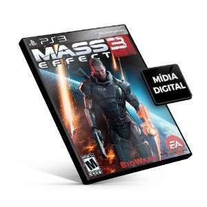 Mass Effect™ 3 - PS3 Mídia Digital