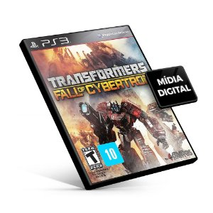 Transformers Fall of Cybertron Gold Edition - PS3 Mídia Digital