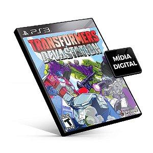 TRANSFORMERS Devastation - PS3 Mídia Digital