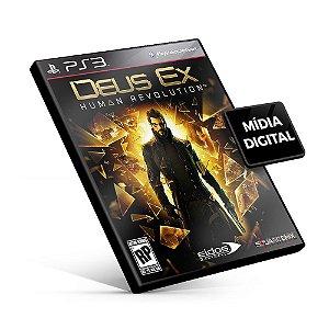 Deus Ex Human Revolution - PS3 Mídia Digital