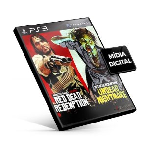 Red Dead Redemption and Undead Nightmare Collection - PS3 Mídia Digital