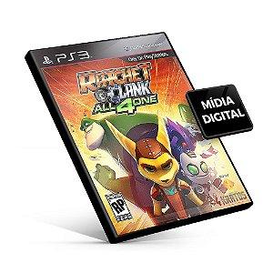 Ratchet & Clank All 4 One - PS3 Mídia Digital