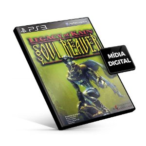 Legacy of Kain Soul Reaver - PS3 Mídia Digital
