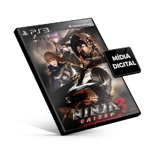 NINJA GAIDEN 3 RAZORS EDGE - PS3 Mídia Digital