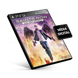 Saints Row Gat Out of Hell - PS3 Mídia Digital