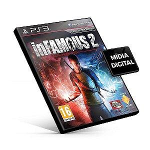 inFAMOUS™ 2 - PS3 Mídia Digital