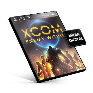 XCOM Enemy Within - PS3 Mídia Digital