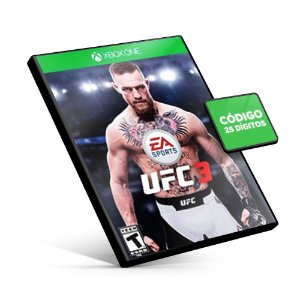 EA Sports UFC 3 - Xbox One - Código 25 Dígitos