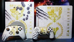 Skin Adesiva para PlayStation 4 - Destiny 2 + 2 Adesivos Light Bar