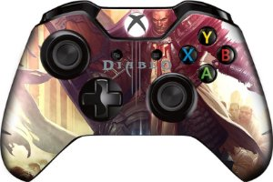 Skin Adesiva Diablo para 2x Controles Xbox One