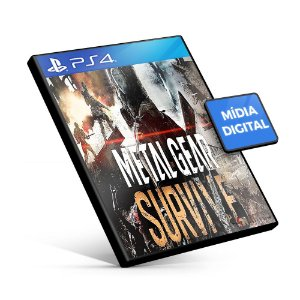 Metal Gear Survive - PS4 Mídia Digital