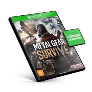 Metal Gear Survive - Xbox One - Código 25 Dígitos