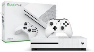 Console Xbox One S 1 TB + Controle Sem Fio - Branco - Microsoft