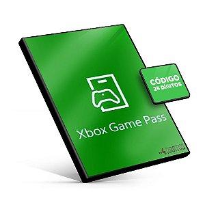 Xbox Game Pass 1 mês - Código 25 Dígitos