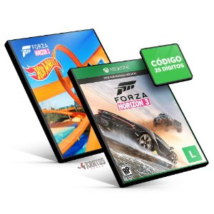 Forza Horizon 3 + Hot Wheels DLC - Xbox One - Código 25 Dígitos
