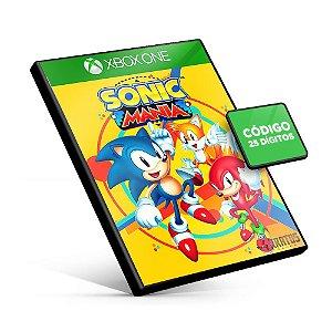 Sonic Mania - Xbox One - Código 25 Dígitos