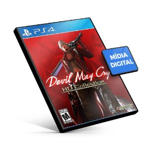 Devil May Cry HD Collection - PS4 Mídia Digital